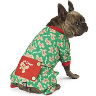 PetRageous Designs Oh Snap! Gingerbread Dog Pajamas, Medium