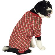PetRageous Designs Red Plaid Dog Pajamas, X-Large