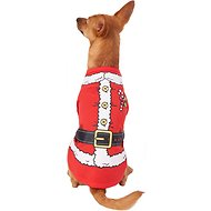 Pup Crew Santa Character Dog & Cat T-Shirt, Medium
