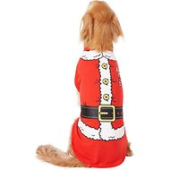 Pup Crew Santa Character Dog & Cat T-Shirt, 3X-Large