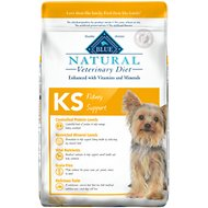 Blue Buffalo Natural Veterinary Diet KS Kidney Support Grain-Free Dry Dog Food, 22-lb bag