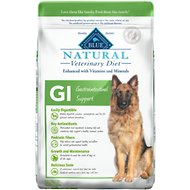 Blue Buffalo Natural Veterinary Diet GI Gastrointestinal Support Dry Dog Food, 22-lb bag
