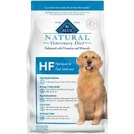 Blue Buffalo Natural Veterinary Diet HF Hydrolyzed for Food Intolerance Grain-Free Dry Dog Food, 6-lb bag