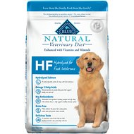 Blue Buffalo Natural Veterinary Diet HF Hydrolyzed for Food Intolerance Grain-Free Dry Dog Food, 22-lb bag