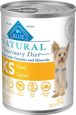 7. Blue Buffalo Natural Veterinary Kidney Support Canned Dog Food