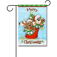 "Gateway Lane ""Merry Christmutts"" Garden Flag"