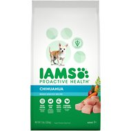 Iams ProActive Health Chihuahua Chicken Flavor Adult Dry Dog Food, 7-lb bag