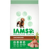 Iams ProActive Health Dachshund Chicken Flavor Adult Dry Dog Food, 15-lb bag