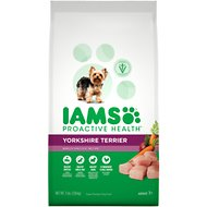 Iams ProActive Health Yorkshire Terrier Chicken Flavor Adult Dry Dog Food, 7-lb bag