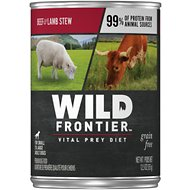 Wild Frontier by Nutro Beef & Lamb Stew Grain-Free Adult Canned Dog Food, 12.5-oz, case of 12