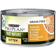 Purina Pro Plan True Nature Natural Chicken & Liver Grain-Free Kitten Formula Canned Cat Food