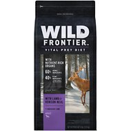 Wild Frontier by Nutro with Lamb & Venison Meal Grain-Free Adult Dry Dog Food, 4-lb bag