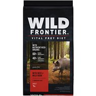 Wild Frontier by Nutro with Beef & Wild Boar Grain-Free Adult Dry Dog Food, 24-lb bag