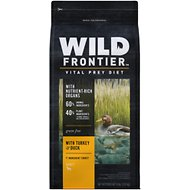 Wild Frontier by Nutro with Turkey & Duck Grain-Free Adult Dry Dog Food, 4-lb bag