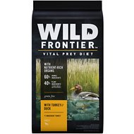 Wild Frontier by Nutro with Turkey & Duck Grain-Free Adult Dry Dog Food, 24-lb bag