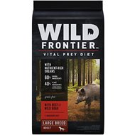 Wild Frontier by Nutro with Beef & Wild Boar Large Breed Grain-Free Adult Dry Dog Food, 24-lb bag