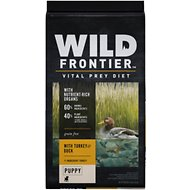 Wild Frontier by Nutro with Turkey & Duck Grain-Free Puppy Dry Dog Food, 24-lb bag