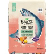 Purina Beyond Indoor Grain-Free Salmon, Egg & Sweet Potato Recipe Dry Cat Food, 11-lb bag