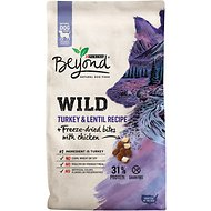 Purina Beyond Wild Turkey & Lentil Recipe + Freeze-Dried Bites with Chicken Dry Dog Food, 7-lb bag