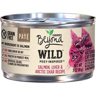 Purina Beyond Wild Prey-Inspired Salmon, Liver & Arctic Char Recipe Canned Cat Food, 3-oz, case of 12