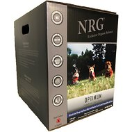 NRG Optimum Large Breed & Active Canine Free Range Beef Dehydrated Raw Dog Food, 22-lb box