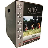 NRG Optimum Large Breed & Active Canine Wild Caught Salmon Dehydrated Raw Dog Food, 22-lb box