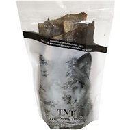 NRG True North Treats Sun Dried Wild Caught Salmon Skin Dog Treats, 3.5-oz bag