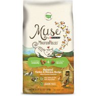 Purina Muse MasterPieces Natural Turkey & Chicken Recipe Dry Cat Food, 3.5-lb bag