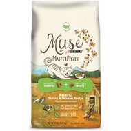 Purina Muse MasterPieces Natural Turkey & Chicken Recipe Dry Cat Food, 8-lb bag