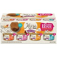 Purina Muse Infused Variety Pack Canned Cat Food, 3-oz, case of 12