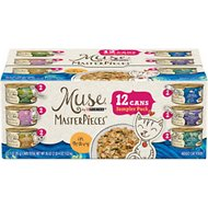 Purina Muse MasterPieces Variety Pack Canned Cat Food, 3-oz, case of 12