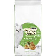 Fancy Feast Gourmet Naturals White Meat Chicken Dry Cat Food, 7-lb bag