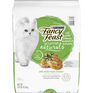 Fancy Feast Gourmet Naturals White Meat Chicken Dry Cat Food, 18-lb bag