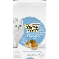 Fancy Feast Gourmet Naturals Wild Caught Oceanfish Dry Cat Food, 3.4-lb bag