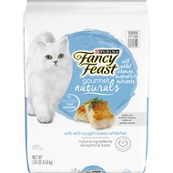 Fancy Feast Gourmet Naturals Wild Caught Oceanfish Dry Cat Food, 18-lb bag