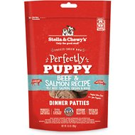 Stella & Chewy's Perfectly Puppy Beef & Salmon Dinner Patties Grain-Free Freeze-Dried Dog Food, 5.5-oz bag