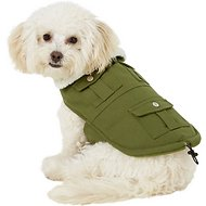 Pup Crew Cargo Pocket Dog Jacket, Small