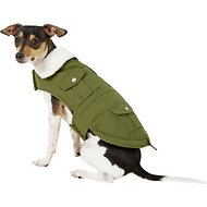Pup Crew Cargo Pocket Dog Jacket, Medium