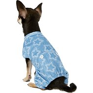 Pup Crew Stars & Dots Print Dog Pajamas, XX-Small
