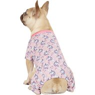 Pup Crew Unicorn Print Dog Pajamas, Medium