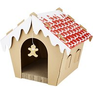 Companion Gear Holiday Gingerbread House Cat Scratcher