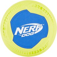 Nerf Dog Nylon & Foam Mega Tuff Fabric Disc Dog Toy