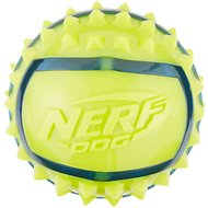 Nerf Dog TPR Spike Ball Dog Toy, Medium