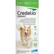 Credelio Chewable Tablet for Dogs, 25.1-50 lbs, 1 tablet