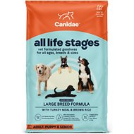 CANIDAE All Life Stages Turkey Meal & Brown Rice Formula Large Breed Dry Dog Food, 44-lb bag