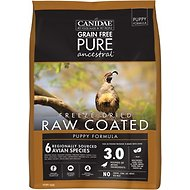 CANIDAE Grain-Free PURE Ancestral Puppy Avian Formula Freeze-Dried Raw Coated Dry Dog Food, 4-lb bag
