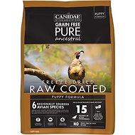 CANIDAE Grain-Free PURE Ancestral Puppy Avian Formula Freeze-Dried Raw Coated Dry Dog Food, 20-lb bag