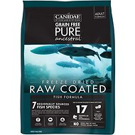 CANIDAE Grain-Free PURE Ancestral Fish Formula Freeze-Dried Raw Coated Dry Dog Food, 20-lb bag