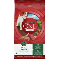 Purina ONE SmartBlend Small Breed Lamb & Rice Formula Dog Food, 7.4-lb bag