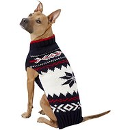 Chilly Dog Navy Vail Dog Sweater, XX-Large